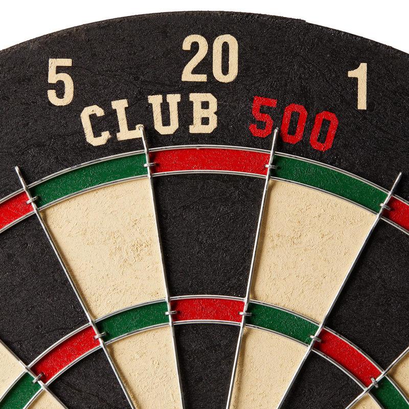 BLANCO TRADICIONAL DE DARDOS CLUB 500