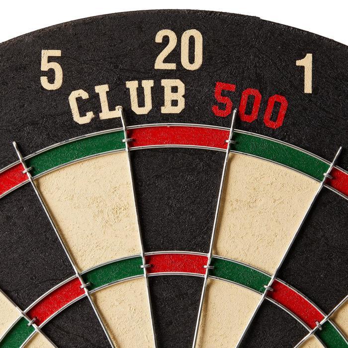 Klassiek dartbord Club 500