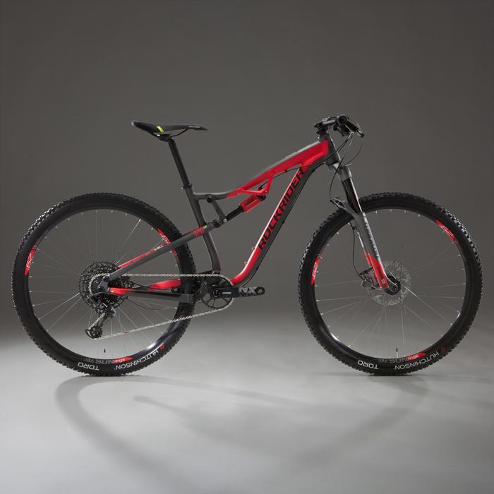 """VTT XC 100 S 29"""" 12s rouge et noir"""