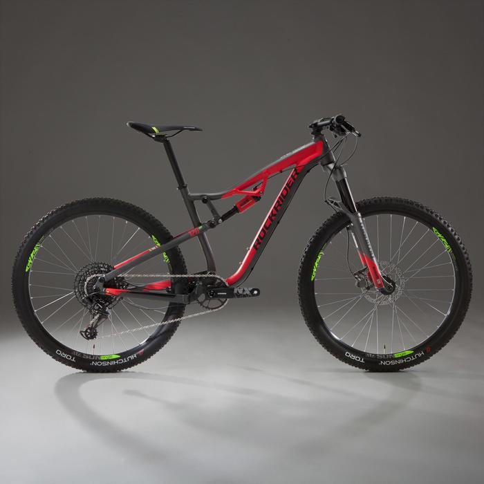 """Mountainbike XC 100 S 27,5"""" 12 Gänge schwarz/rot"""