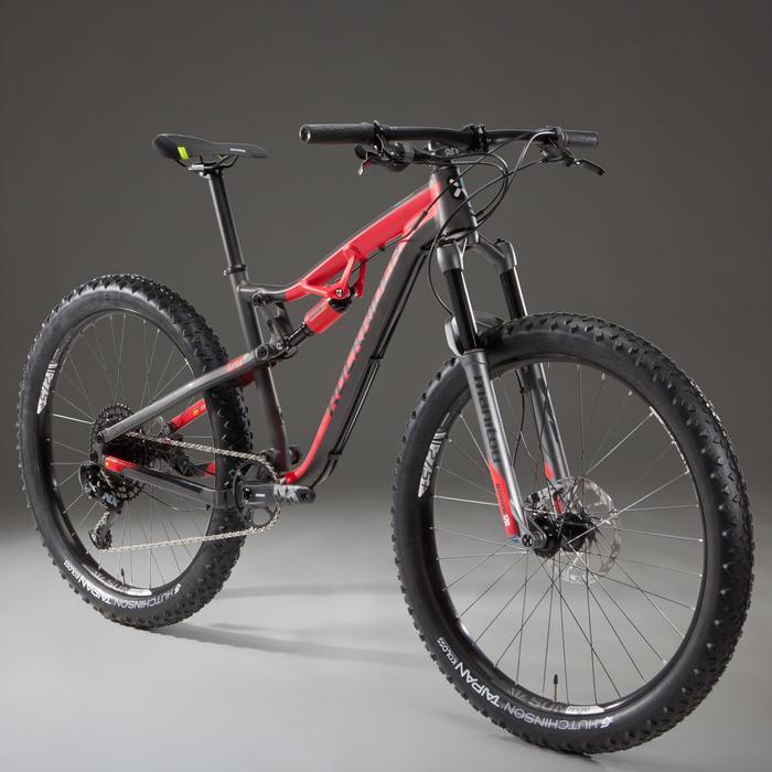 MTB XC 100 S 27.5 PLUS 12S zwart/rood
