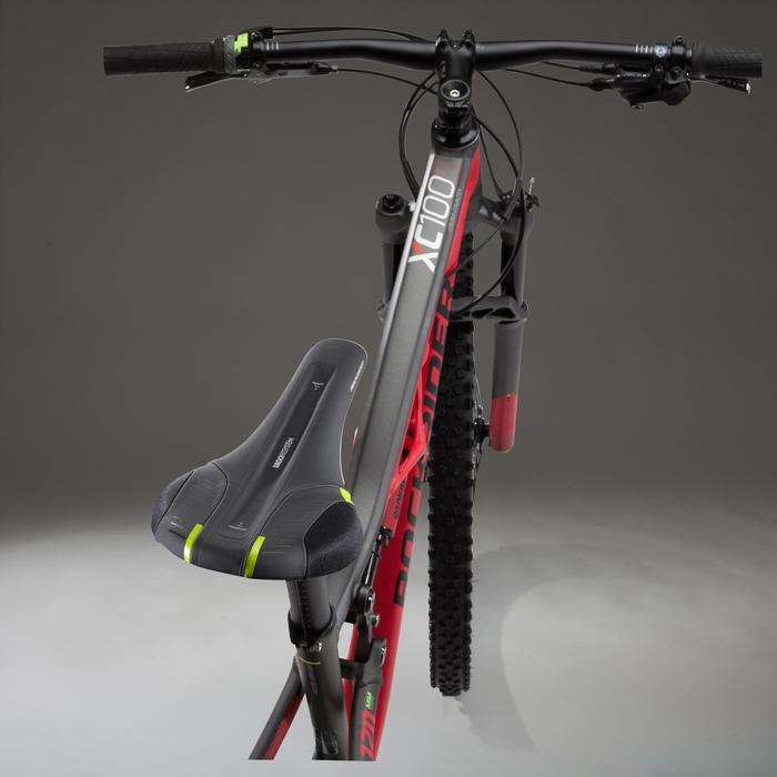 """Mountainbike XC 100 S MTB 27,5"""" schwarz/rot"""