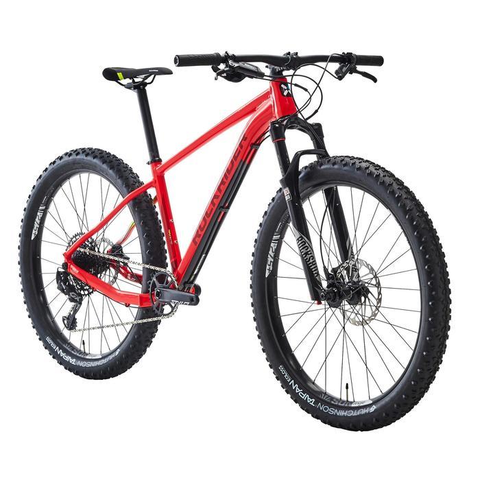 "Mountainbike XC 500 27,5"" Plus 12 Gänge rot"