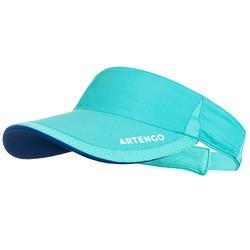 TV 100 Racket Sports Visor - Turquoise/Blue