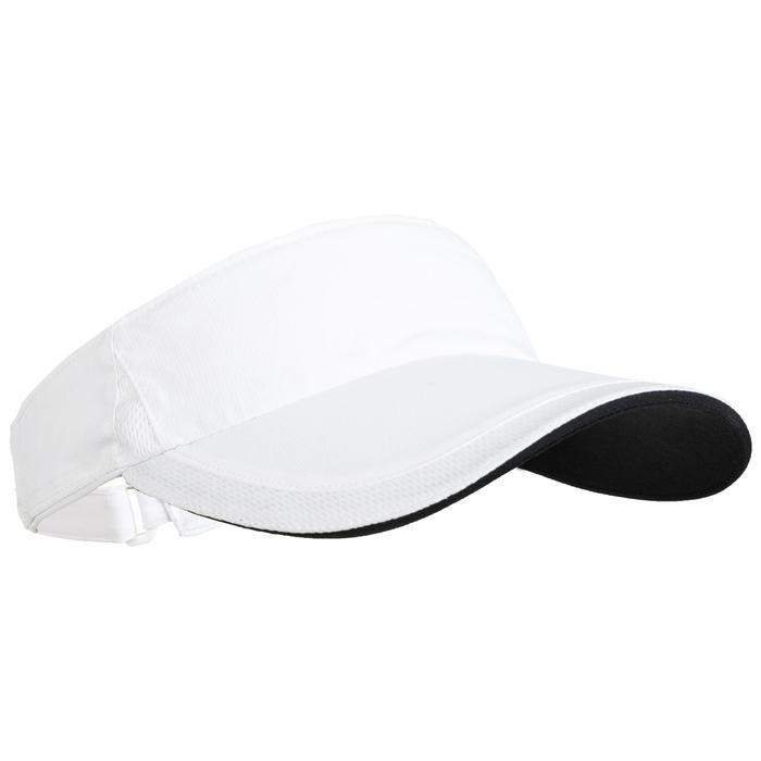 TV 100 Racket Sports Visor - White