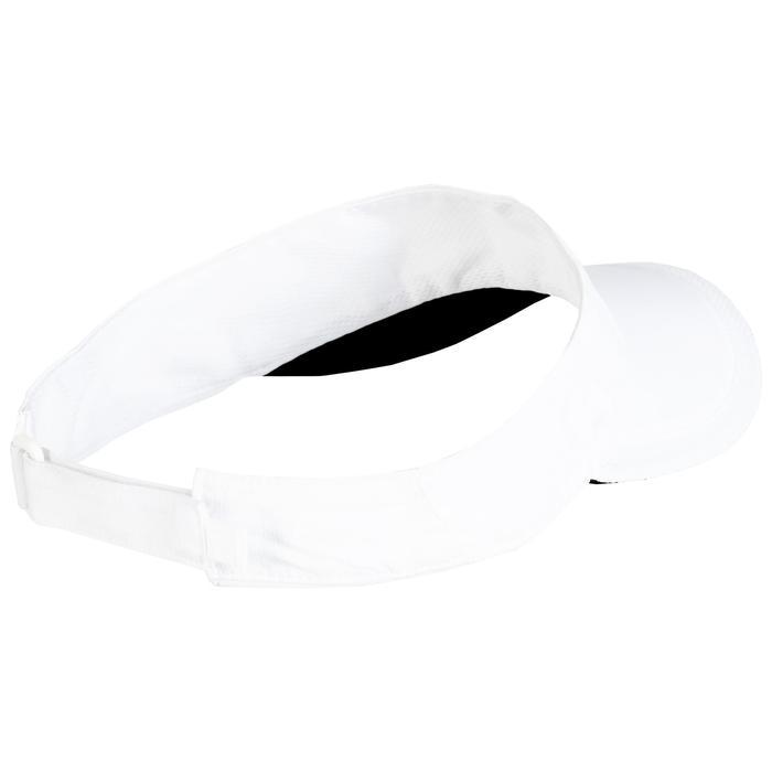 球拍運動遮陽帽TV 100-白色