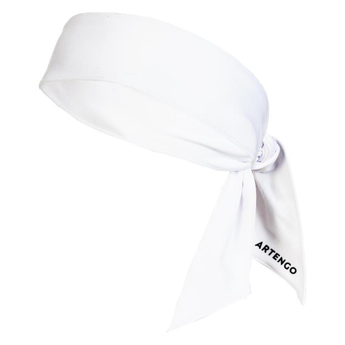 Stirnband Bandana Tennis weiß