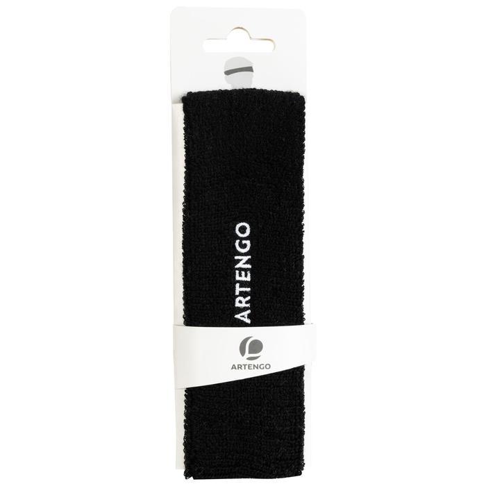 Stirnband Tennis TB100 schwarz