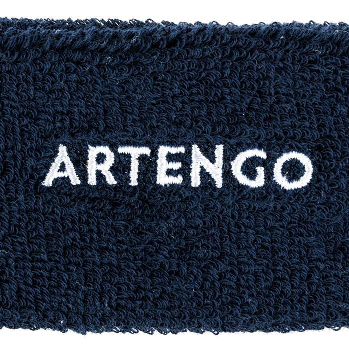網球頭帶TB 100-深藍色