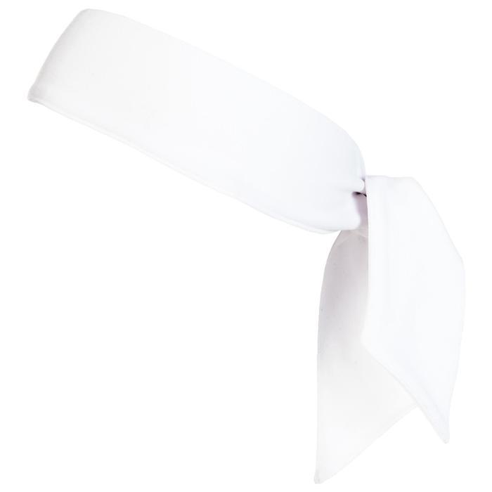 網球頭巾–白色