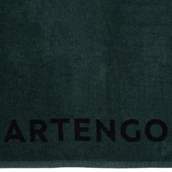TS 100 Racket Sports Towel - Khaki/Black