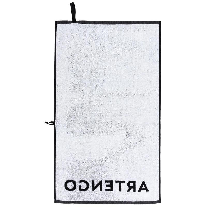 Tennis Towel TS 100 - Black/White