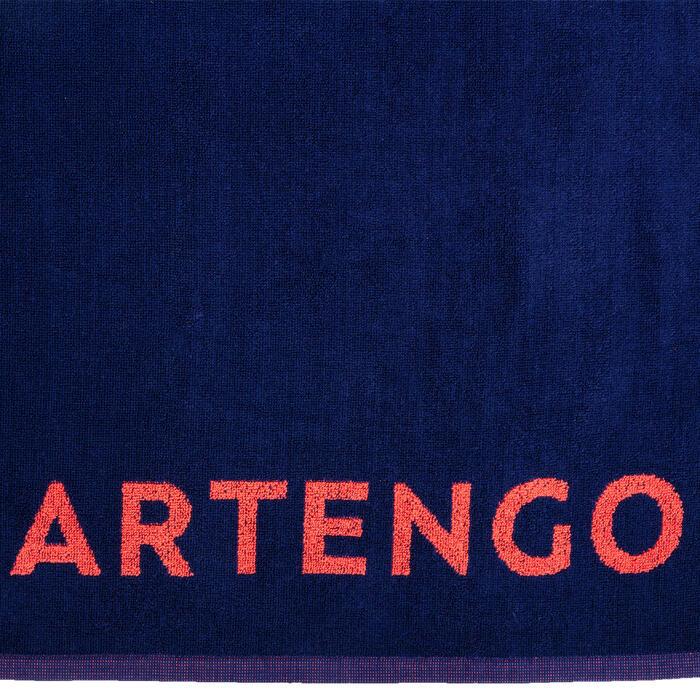 網球毛巾 TS 100 - 深藍配粉紅色