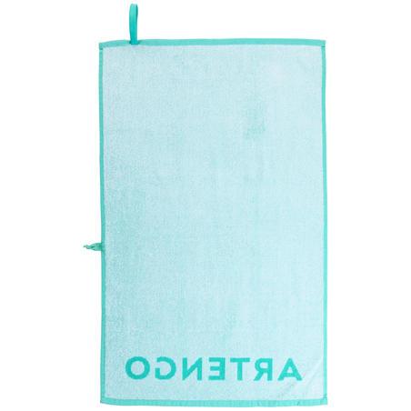 Tennis Towel TS 100 - Turquoise/White
