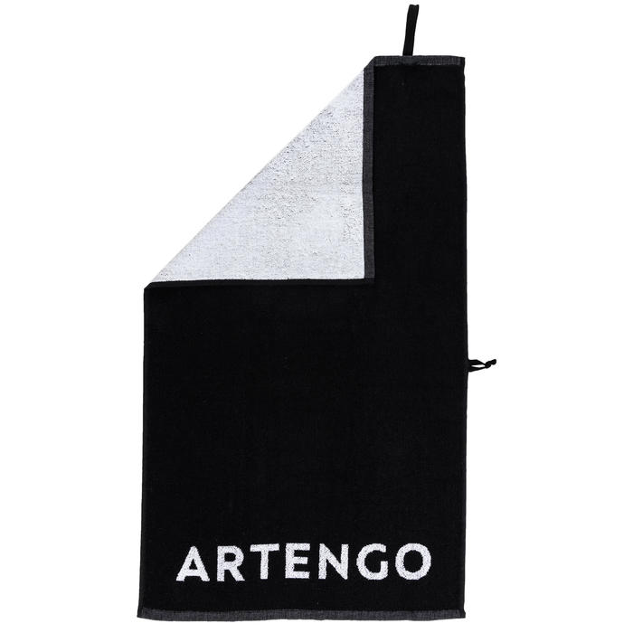 Tennis Towel TS 100 - Black/White