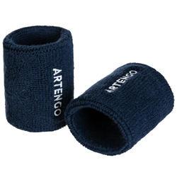 Zweetbandjes voor tennis TP 100 marineblauw