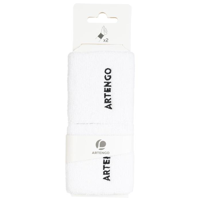 Schweißband TP100 Tennis Handgelenk weiß