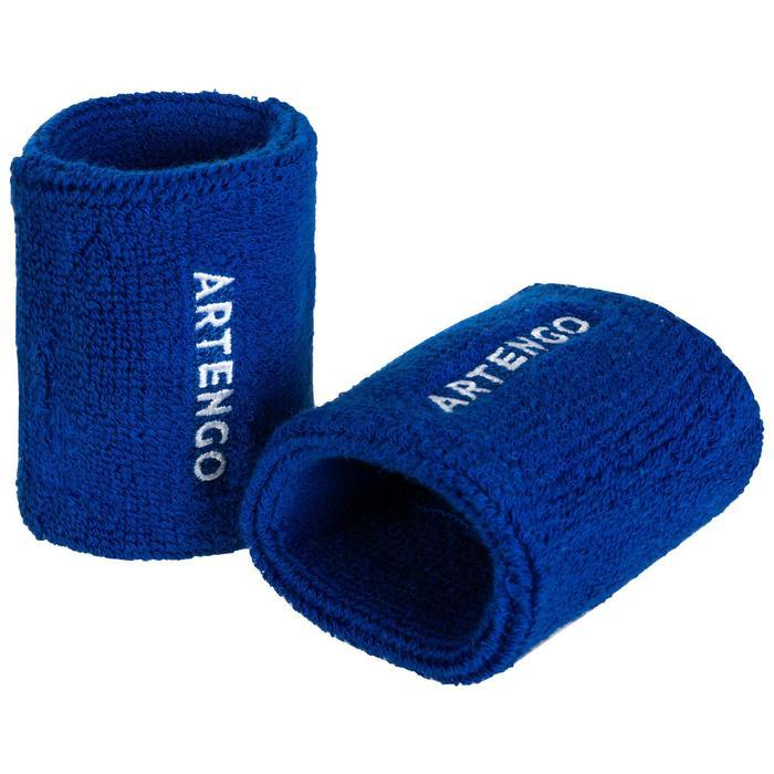 Schweißband TP100 Tennis Handgelenk indigo