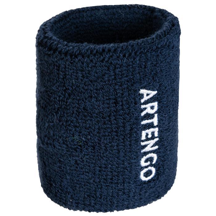 Schweißband TP100 Tennis Handgelenk marineblau