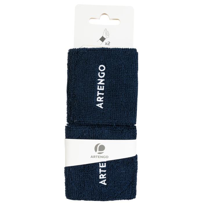 Polsband voor tennis Artengo TP 100 marineblauw