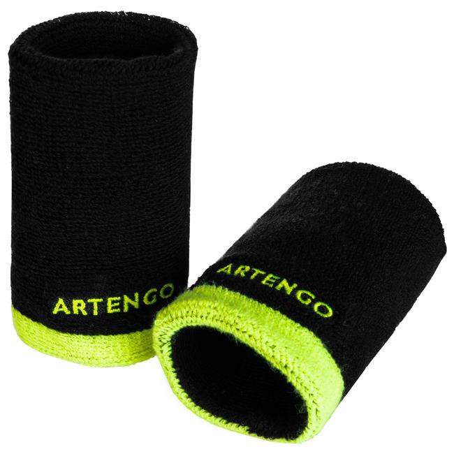 TP 100 XL Tennis Wristband - Black/Yellow