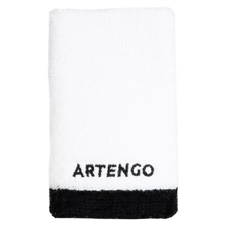 TP 100 XL Tennis Wristband - White/Black