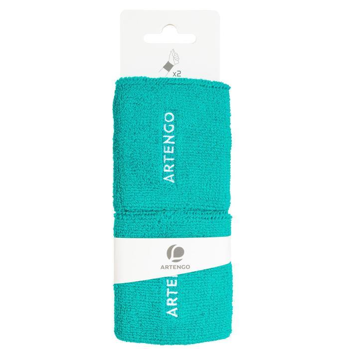 TP 100 Tennis Wristband - Turquoise