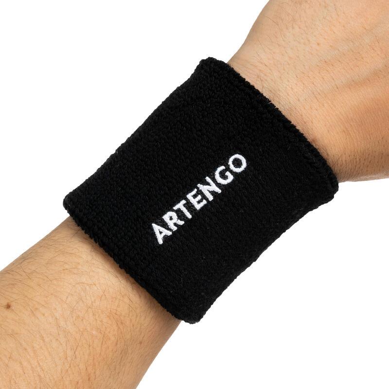 ปลอกรัดข้อมือเทนนิสรุ่น TP 100 (สีดำ)