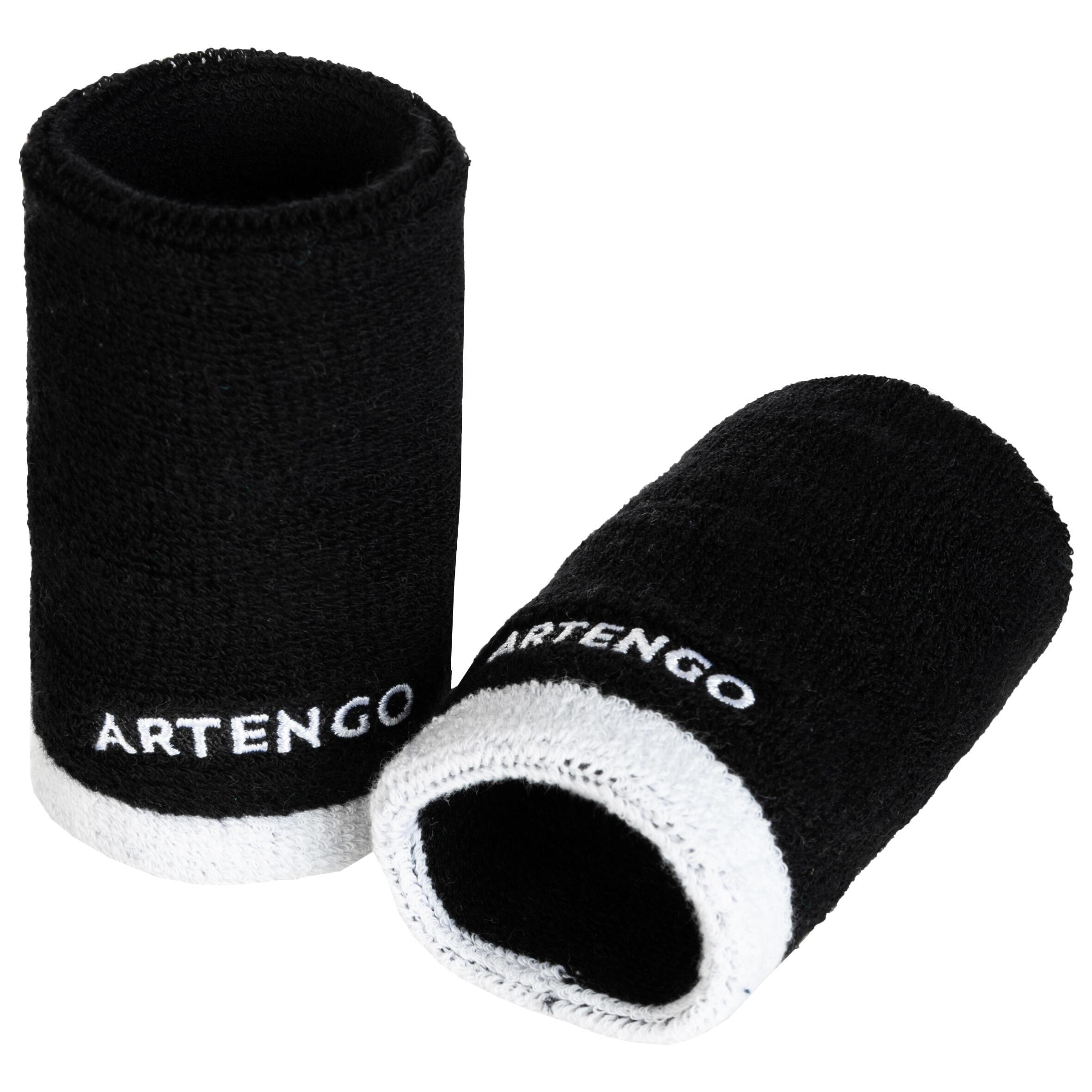 Long Wristband - Black/White