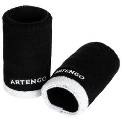 Schweißband TP 100 XL Tennis Handgelenk schwarz/weiss