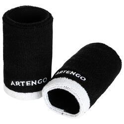 網球護腕TP 100 XL-黑白配色