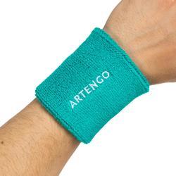 網球護腕TP 100-淺碧藍色