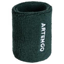 Schweißband Arm Tennis TP100 kaki
