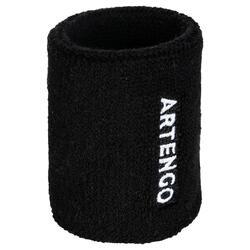 Schweißband Arm Tennis TP100 schwarz