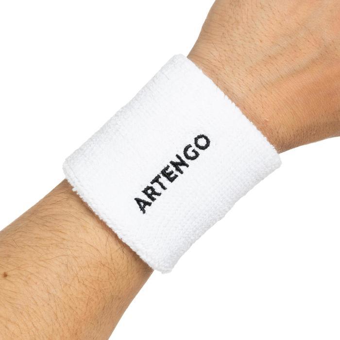 網球T恤TP 100-白色