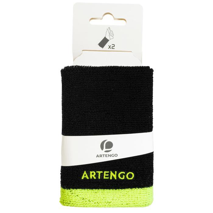 Tennispolsband Artengo TP 100 XL zwart geel