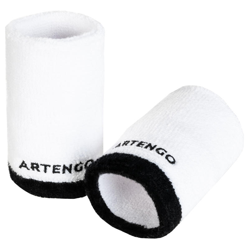 TP 100 XL Tennis Wristband - White/Black