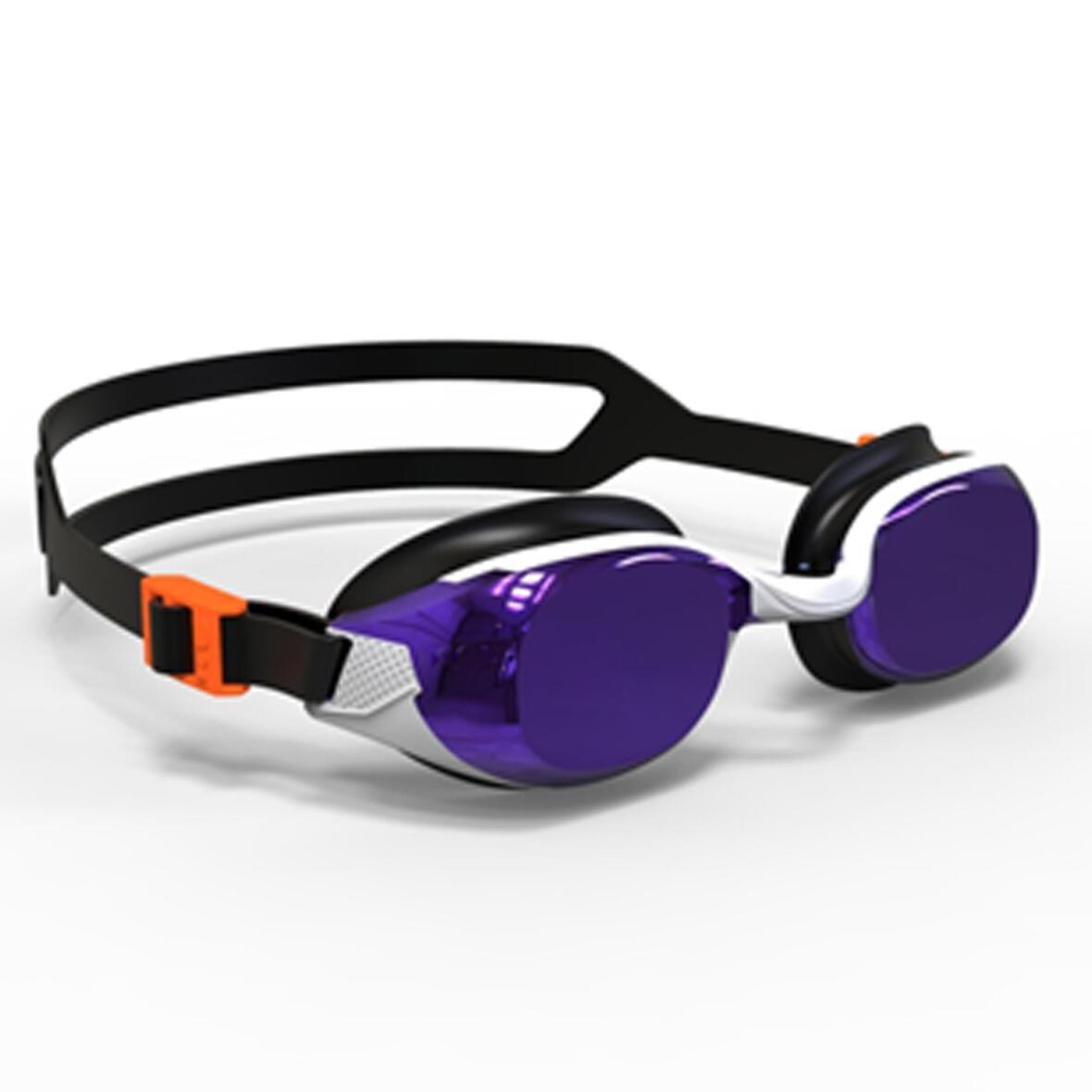 進階款高穩定防霧泳鏡(彩色鏡面鏡片)