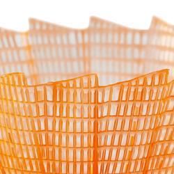 VOLANTE DE BÁDMINTON DE PLÁSTICO PSC 100 x1 Lote de 1 - Naranja