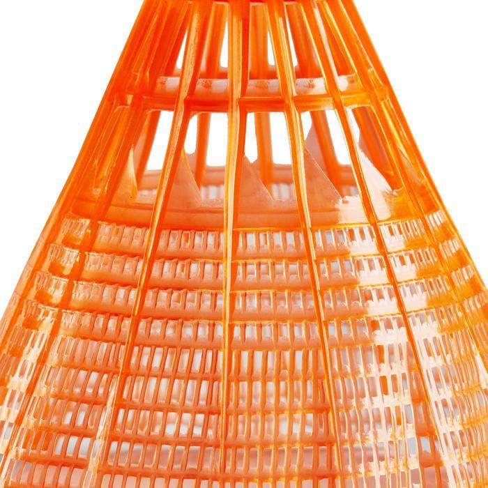 Badmintonball Federball BSC700 Kunststoff 1 Stk. orange