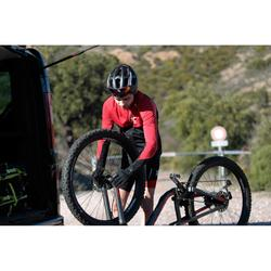 """Mountainbike XC 100 S 27,5"""" Plus MTB 12 Gänge schwarz/rot"""