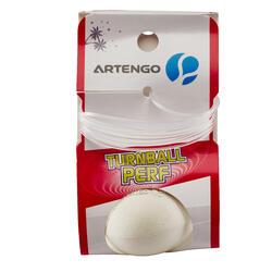 Balle de Speedball Turnball Perf caoutchouc blanc