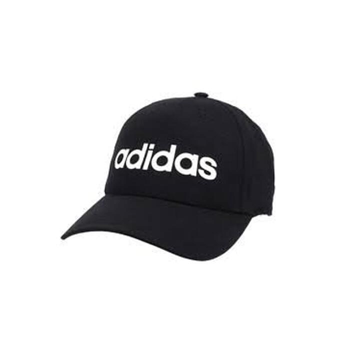 Gorra plana Cardio Fitness Adidas adultos negro blanco