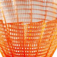 Volant de badminton en plastique PSC 100 x 1 - orange