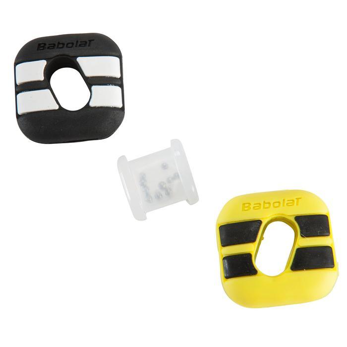 Trillingdemper tennis Custom Damp Aero zwart en geel