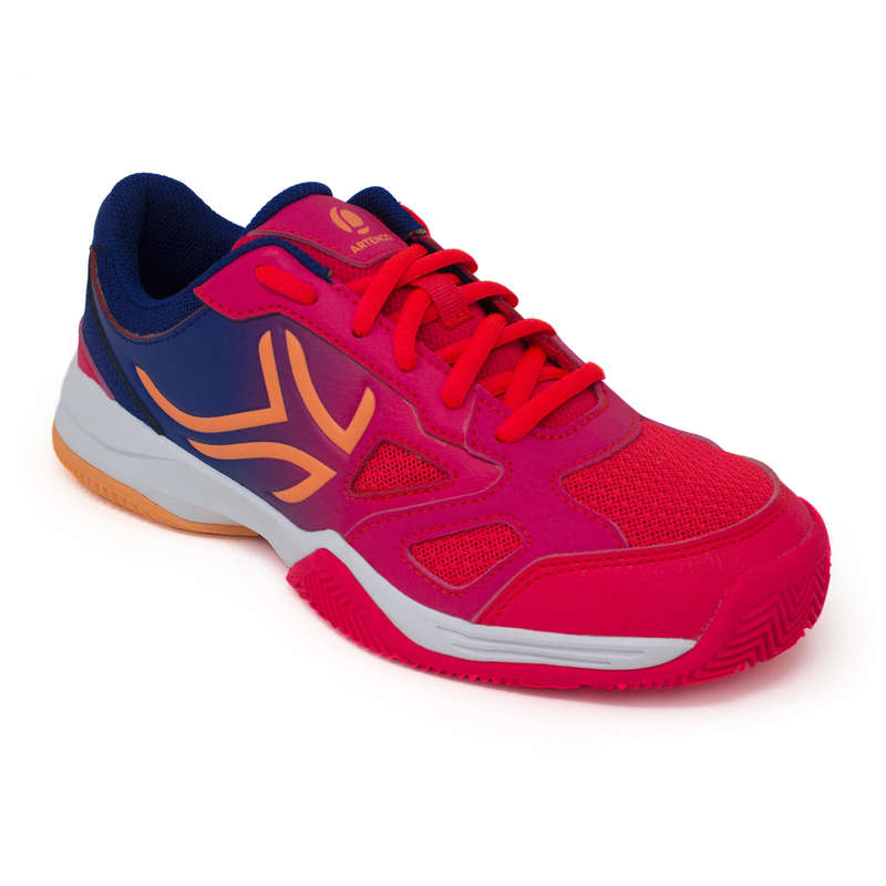 RACCHETTE PADEL BAMBINO Sport di racchetta - Scarpe padel junior PS560 rosa ARTENGO - PADEL