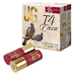 Cartucho Caza Jg T4 36 gr Calibre 12/70