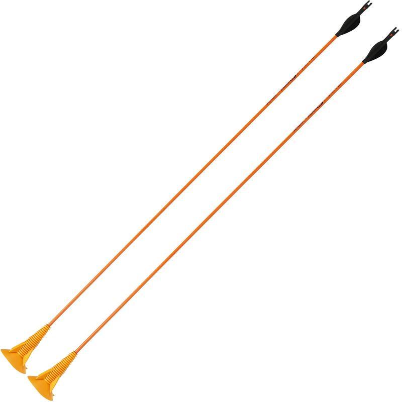 Săgeți tir cu arcul DISCOSOFT portocaliu X2