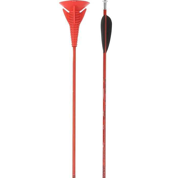 Pijlen boogschieten Easysoft rood x2