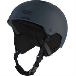 成人/青少年單/雙板滑雪安全帽H-FS 300 - 深藍綠色